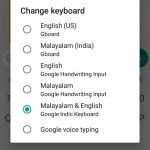 google malayalam voice typing app - type in your language without typing it 8